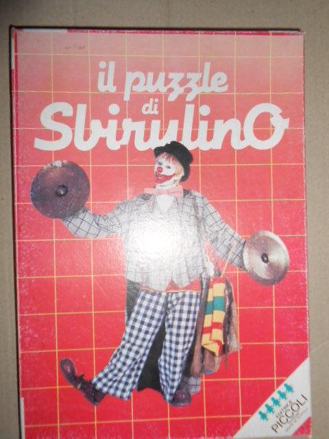 Puzzle 20 Pezzi Sbirulino Bozzetto Mondaini  Jigsaw Piccoli  risparmiare sulla liquidazione
