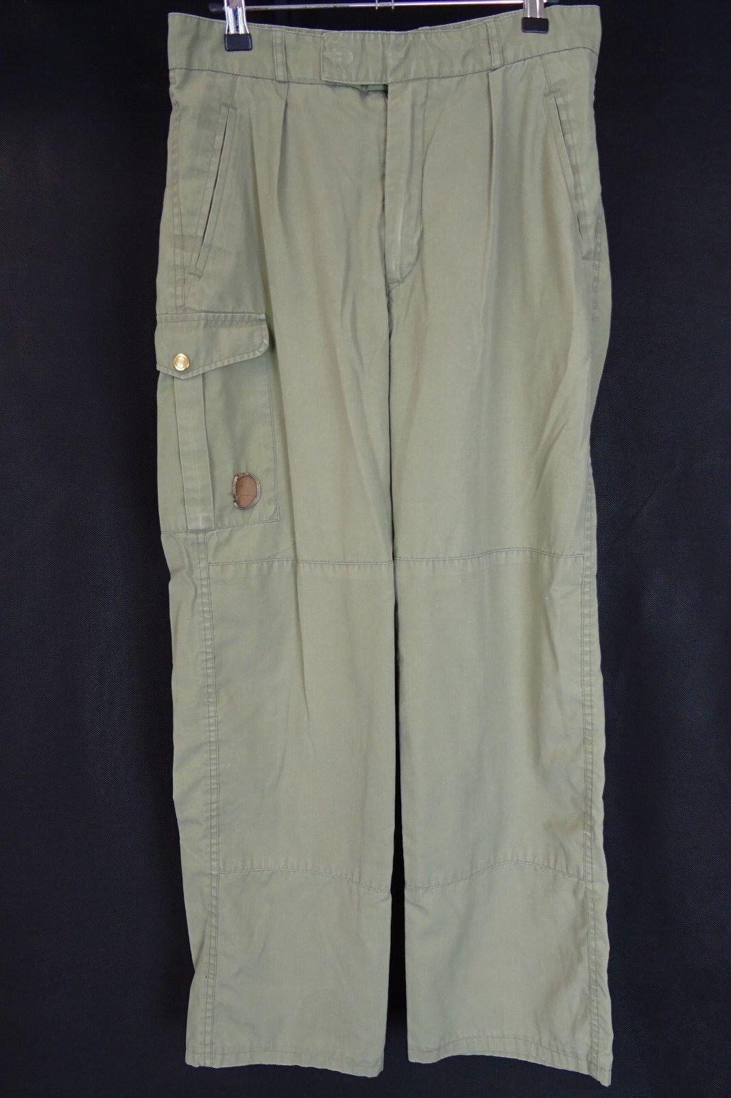 Uomo Fjallraven Outdoor Pantaloni Caccia Da Combattimento Taglia W30 L28 AA2463