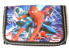 Gray Spider Man 3-fold Boy's Wallet Item 4446