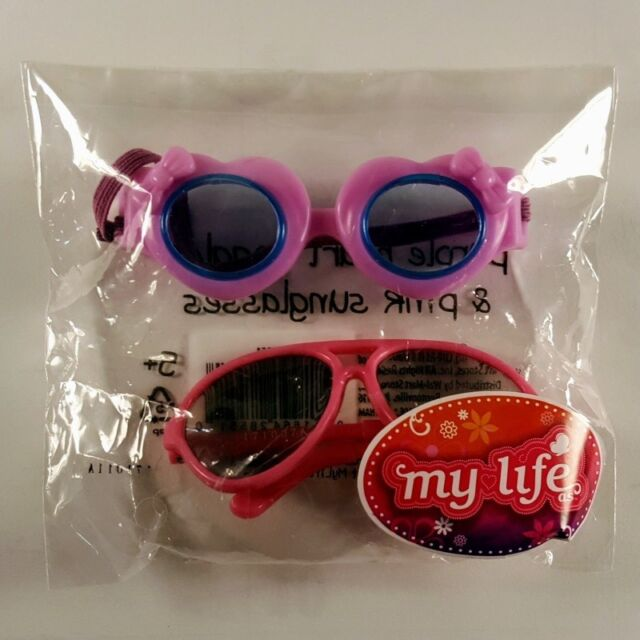 Barbie Yellow Brown Club Master inspired frames Sunglasses 1//6 scale doll