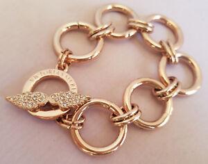 Victoria/'s Secret Rhinestone Chain Link Bracelet