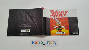 Nintendo-NES-Asterix-Notice-Instruction-Manual