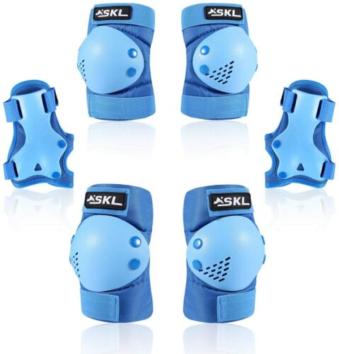 Knee Pads Elbow Set for Skating Cycling Bike Rollerblading Scooter Safety Gear