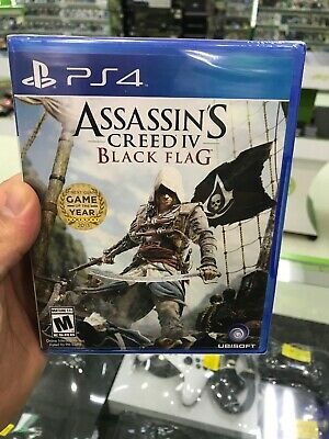 Assassin S Creed Iv Black Flag Ps4 Sony Playstation 4 Brand