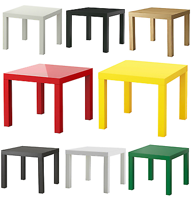Côté Table Fin Display Square 55 cm petite table basse IKEA LACK
