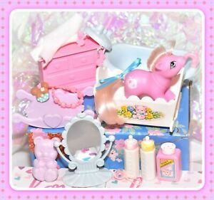 My-Little-Pony-G1-Vtg-Tiddly-Winks-Lullabye-Nursery-BABY-Accessory-Lullaby