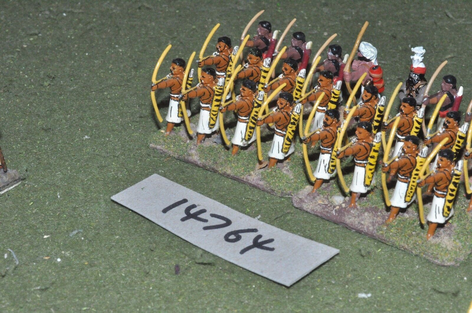 25mm classical   indian - ancient archers 24 figs - inf (14764)