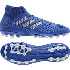 Details zu adidas Predator 19.3 AG Kunstrasen Sohle Herren Fußballschuh BC0297 blau silber