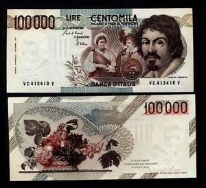 100.000 Livres Caravaggio 1° Modèle Lettre C Fds Fvdygyv7-08002704-190388473