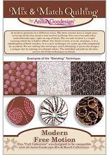 Modern Free Motion Anita Goodesign Embroidery Design cd