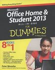 Microsoft Office Home and Student 2013 All-in-One for Dummies® by Peter Weverka (2013, Paperback, Student Edition of Textbook)