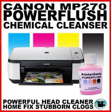 Canon Pixma Mp270 Impresora: Kit de limpieza: Boquilla de descarga de cabezal de impresión Desatascador