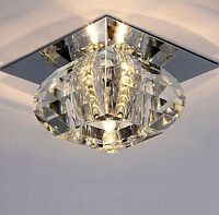 Modern Crystal LED Bulb Warm White Ceiling Light Lighting Chandelier Decor