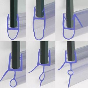 Bath Shower Screen Door Seal Strip Glass Thickness 4