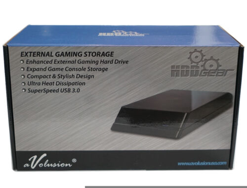New Avolusion HDDGear 5TB 5000GB USB 3.0 External XBOX ONE Gaming Hard Drive