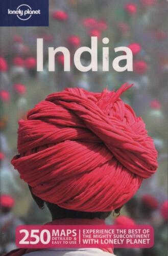 1 of 1 - INDIA - LONELY PLANET TRAVEL 250  MAPS PICS INFORMATION GUIDE AS NEW CONDITION