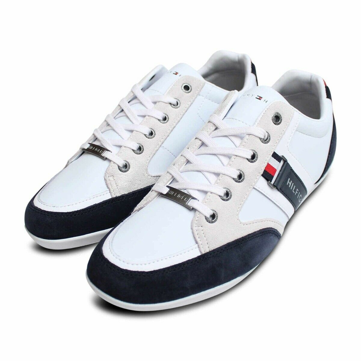 Tommy Hilfiger Red White & Blue Designer Cupsole Shoes