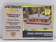 BACHMANN PLUS N SCALE U/A RURAL FREIGHT STATION PLASTIC MODEL KIT #35156