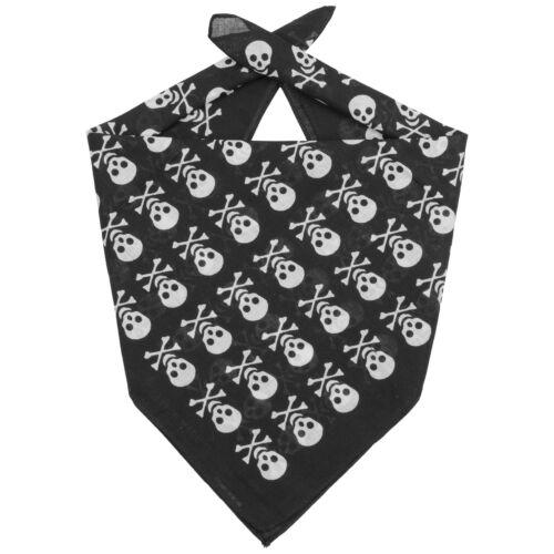 LIPODO Skulls Bandana Halstuch Kopftuch Stirnband Schal Gesichtsschutz
