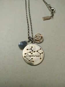 Foxy-originals-Sagittarius-zodiac-goldtone-necklace