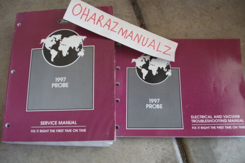 1997 FORD Probe Service /& EVTM Wiring Diagram Manuals Manual OEM