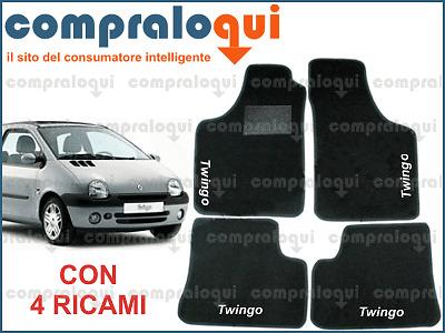 Peugeot 206 Tappeti Tappetini AUTO 2 Ricami Colorati!