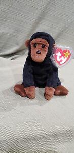 e1fc7268557 Ty Beanie Baby Congo the Gorilla w Errors 1996 PVC Style  4160 MWMT ...
