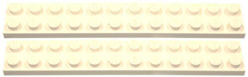 Missing Lego Brick 2445 White x 2 Plate 2 x 12