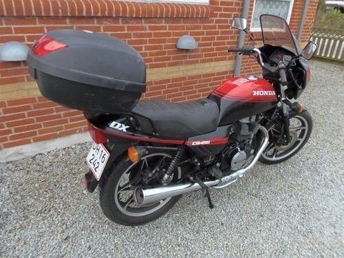 Honda, CB 450 DX, ccm 450