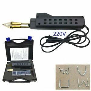 Coche-Auto-Cuerpo-Parachoques-Caliente-Grapa-pistola-Soldador-de-soldadura-de-plastico-Kit-de