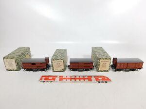CE734-1-3x-Trix-Express-H0-DC-3L-Gueterwagen-DB-20-118-20-119-20-120-OVP