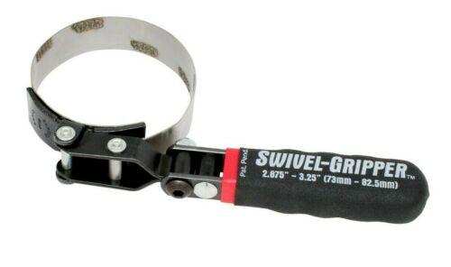 Lisle 57020 Swivel Gripper No-Slip Filter Wrench