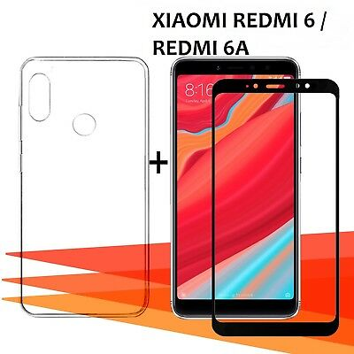 Skillful Knitting And Elegant Design cover To Be Renowned Both At Home And Abroad For Exquisite Workmanship 6a Pack Protector Glass Glass Tempered Full 3d 100% True Xiaomi Redmi 6
