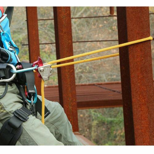 Tree Arborist Rock Climbing Fall Arrest Gear Rescue Rope Grab Protecta Equipment