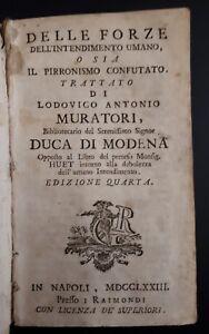 L-A-Muratori-Delle-forze-dell-039-intendimento-umano-1773