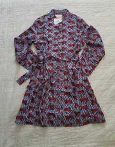 J 6 Shirtjurk Jurk 8 14 Zijden Tiger Roaming Print Twill Shirt Crewcollectie cJ3KT1lF