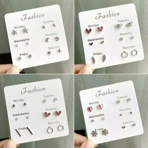 6-Pairs-Set-Women-Girl-Pearl-Crystal-Heart-Ear-Stud-Earrings-Charm-Jewelry-Gift