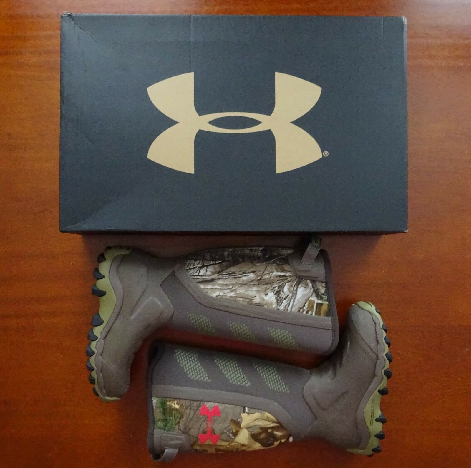 Under Armour Women's Haw 2.0 Hunting Boot Realtree Ap-Xtra NWT Camo