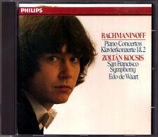 Zoltan KOCSIS: RACHMANINOV Piano Concerto No.1 2 Edo de Waart CD Klaviertkonzert