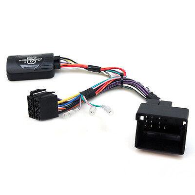 Peugeot 407 VOLANTE di controllo di piombo stereo auto Gambo Adattatore Di Interfaccia