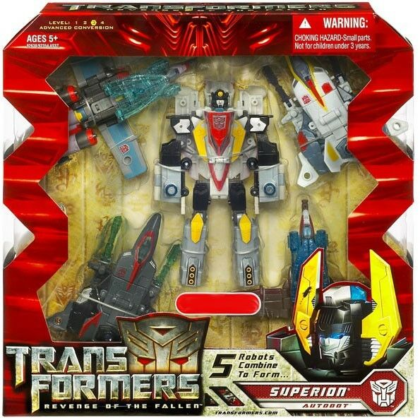 Transformers Revenge of the Fallen Combiner Set Superion Exclusive Action Figure