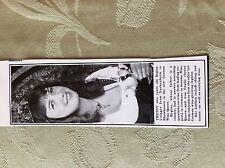 a2a ephemera 1981 picture regine usinger nackenheim wine queen germany