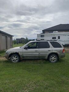 2002 Oldsmobile Bravada Grey