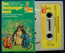 Das Dschungelbuch Peggy MC Kassette Hörspiel