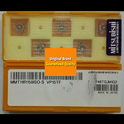 5pcs//Box MITSUBISHI MMT16ER150ISO-S VP15TF Carbide Insert New Free Shipping