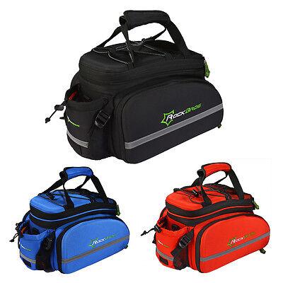 ROCKBROS Radfahren Transporttaschen Gepäckträgertasche Neu 3 Farben