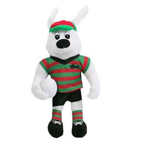 South-Sydney-Rabbitohs-NRL-Plush-Teddy-Bear-Toy-Sublimated-2018-MASCOT-Gift