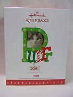 2016 Hallmark Keepsake Ornament Purr Cat Photo Holder B16