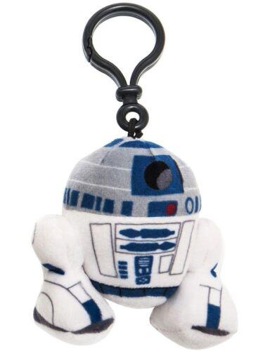 Peluche porte clés r2-d2 STAR WARS NEUF 8 cm Disney Sac Bag Clip
