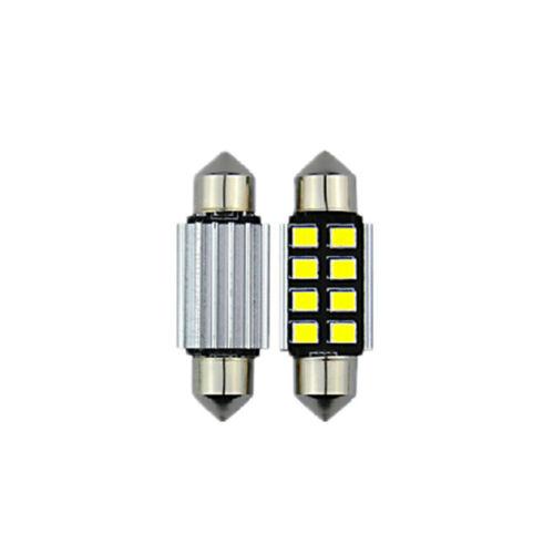 2pcs  36mm 2835 Festoon Canbus 8SMD LED Car  Interior Dome Map Light  Bulb Lamps